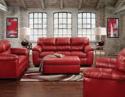 Black And Red Sofa Set Designs Rigley Sofa Red Levin Furniture