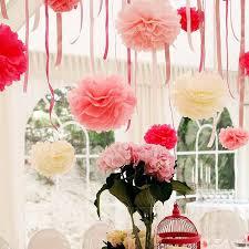 wholesale 820cm tissue paper pom poms wedding decor craft