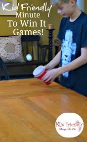 Christmas Party Minute To Win It Games Kid Friendly Easy Minute To Win It Games For Your Party