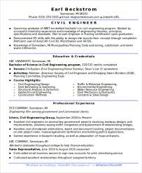 Civil Engineer Resume Examples by 13 Fresher Resume Templates In Word Free U0026 Premium Templates