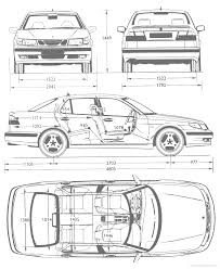 saab 9 5 2003 sedan blueprints saabcentral forums
