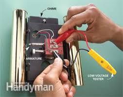 repair a doorbell fix a dead or broken doorbell family handyman