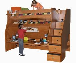 Bunk Bed Systems With Desk Berg Transforming Loft 78 12 Xl With Desk Bedroom