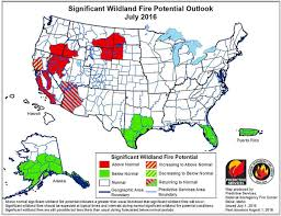 Alaska Wildfire Safety by Wildland Fire Potential July Through October U2013 Wildfire Today