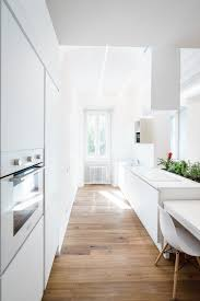 Corridor Kitchen Designs 4 Small Apartment Interiors Embracing Character Themes Best