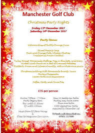 Christmas Party Nights Manchester - manchester golf club on twitter