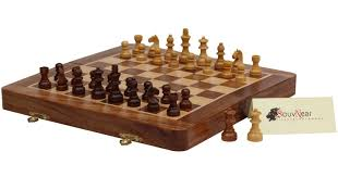 amazon com best travel chess set souvnear 12 5 u201d magnetic wooden