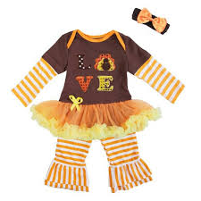 baby clothes thanksgiving turkey bling turkey brown