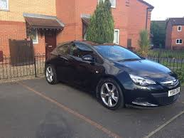 opel astra 2017 reduced price vauxhall astra gtc 2012 in black full dealership