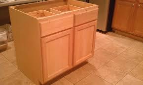 assembled 30 34 5 24 in base kitchen cabinet in unfinished oak