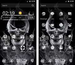 skull apk skull is coming apk version 1 1 5 theme skull