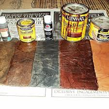 Faux Painted Floors - how to create a faux leather finish using brown paper hometalk