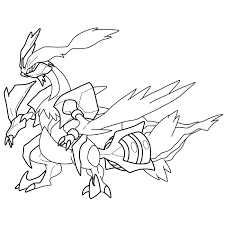 pokemon coloring pages white kyurem white kyurem lines by blastertwo on deviantart