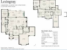 100 lexington floor plan lexington lenah mill the villages