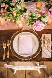 Pink And Gold Table Setting by Top 25 Best Pink Cutlery Set Inspiration Ideas On Pinterest