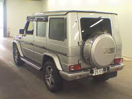 mercedes auctions japanese car auction finds mercedes g class g wagen g500l