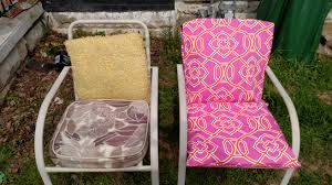 Lawn Chair Cushion Covers Diy Outdoor Cushions Modern Homemakers