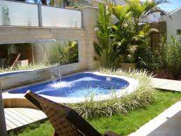 Pools Small Backyards by Pools For Small Backyards With Pic Of Contemporary Mini Swimming