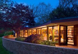 House Plans Handicap Accessible Accessible Frank Lloyd Wright House In Illinois Is Reborn As A