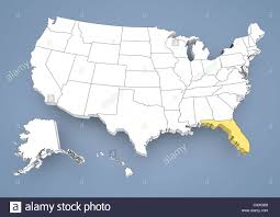 Image Of Usa Map by Florida Map Stock Photos U0026 Florida Map Stock Images Alamy
