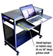 Movable Computer Desk Sts7801 Metal 32