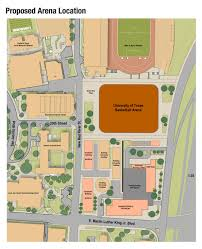 Map Of Ut Austin by New Longhorns Basketball Arena To Be Built On Campus Ut News