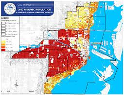 Wynwood Miami Map by Planning Demographics 2010