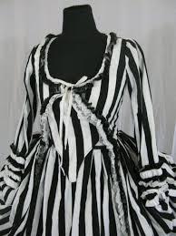 Black White Striped Halloween Costume 74 Gothique Images Gothic Fashion Halloween