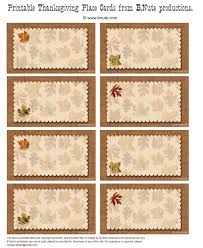 bnute productions free printable autumn place cards for