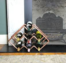 best 25 copper wine rack ideas on pinterest kitchen wine rack