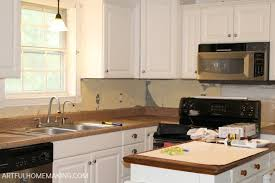 beadboard backsplash kitchen how to install a beadboard kitchen backsplash artful homemaking