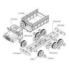 Diy Making Wood Toys Wooden Pdf Easy Project Ideas For Kids by Russian Zil 131 Wooden Truck Model Woodworking Plans For Diy Pdf