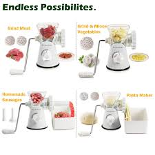 amazon com kitchen basics 3 in 1 meat grinder and vegetable