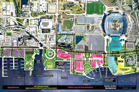 Everbank Field Map Downtown Investment Authority Selects Shad Khan U0027s Master Plan For