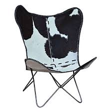 Black Butterfly Chair Cowhide Butterfly Chair Black By Phil Bee Interiors Zanui