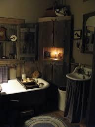 primitive bathroom ideas primitive bathroom lighting home design