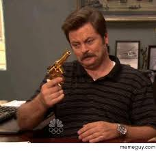 Goldeneye Meme - mrw every time i get the golden gun in goldeneye meme guy