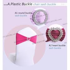 chair sash buckles sash buckle chair sash buckle in heart and circle