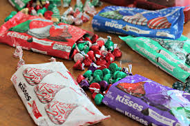 hershey u0027s kisses christmas countdown organize and decorate