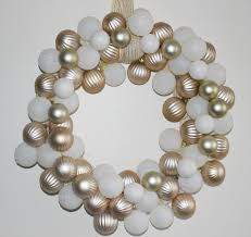 make a rose gold u0026 white dollar tree ornament wreath our crafty mom