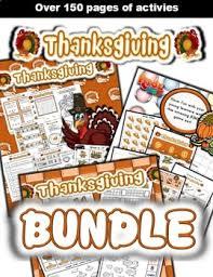 thanksgiving classroom center bundle by esl kidz tpt