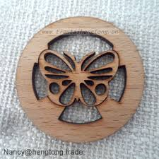 wholesale customed laser cut butterfly wood carfts small