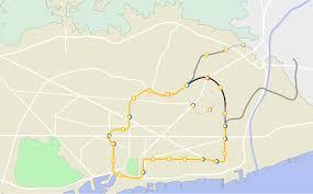 Barcelona Metro Map by Barcelona Metro Line 4 Wikipedia