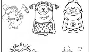 minions coloring pages 01