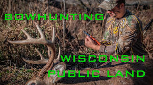 Wisconsin Public Hunting Land Map by Wisconsin Public Land Rut Hunting Youtube
