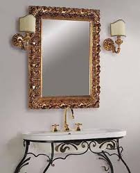 Vintage Mirrors For Bathrooms - charming bathroom decor old world bathroom decorating ideas