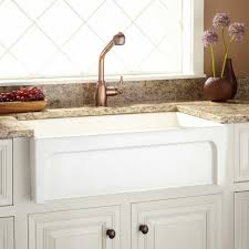 bathroom sink white apron sink country style sink white