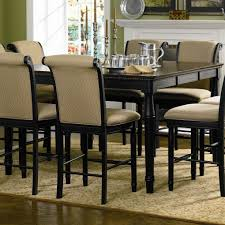 high dining room table and chairs bar height dining room tables createfullcircle com