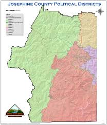 County Map Of Oregon by Even In Oregon U0027s Josephine County There U0027s An Urban Rural Split