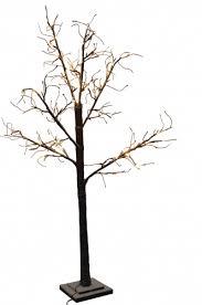 lit led snowy twig tree 120cm